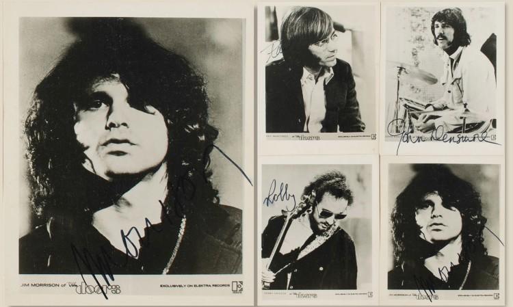 Doors-signed photos