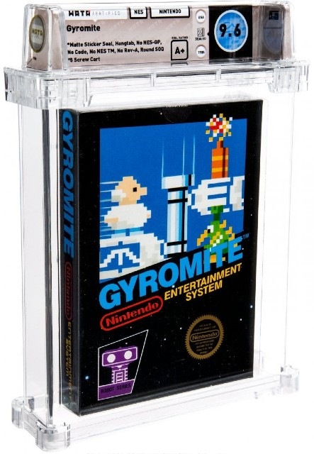 Unopened Gyromite video game