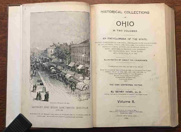 book auction examines US history