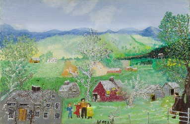 Grandma Moses leads American art offering at Swann Sept. 17