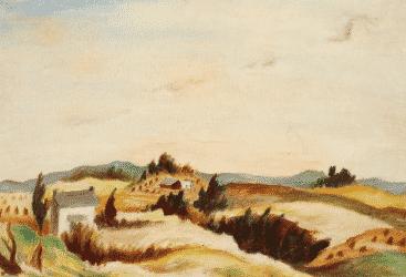 Pollock landscape resurfaces in Freeman's auction Oct. 5