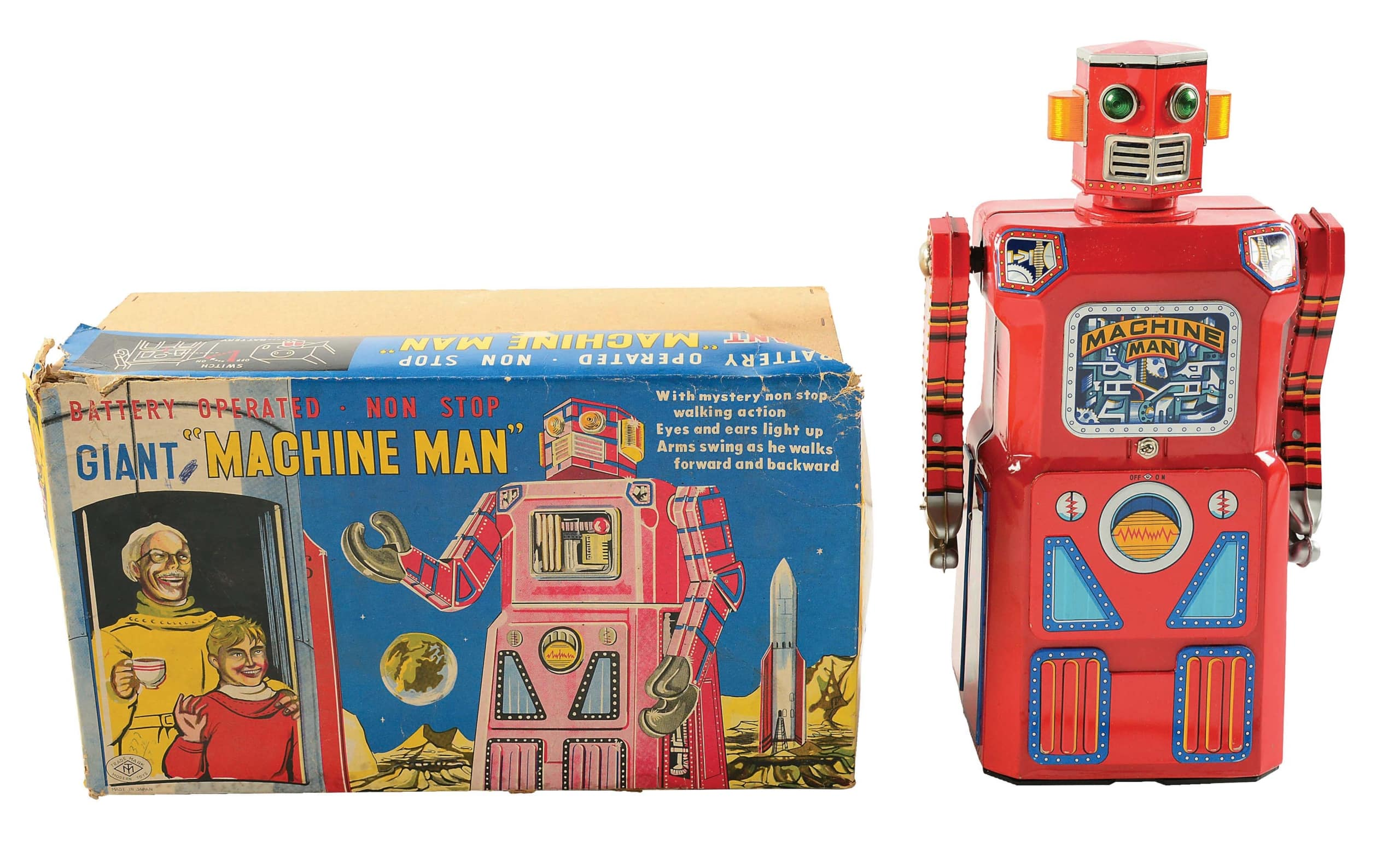 Machine Man robot