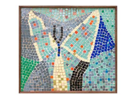 Rare Lichtenstein tile mosaic to star at Neue Auctions, Sept. 26