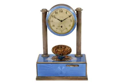 Art Deco clocks: bold and modernist