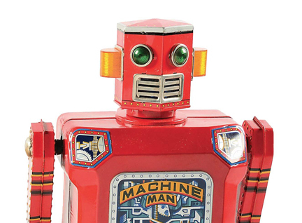 Machine Man Robot sells for out-of-this-world price at Morphy's