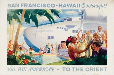 Popular destination: Swann travel poster auction