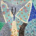 Roy Lichtenstein tile