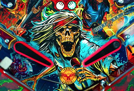 Guns N' Roses co-designs pinball machine: a playable work of art