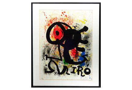 Large, long-held 1973 Miro artwork leads Stephenson's Oct. 30 auction