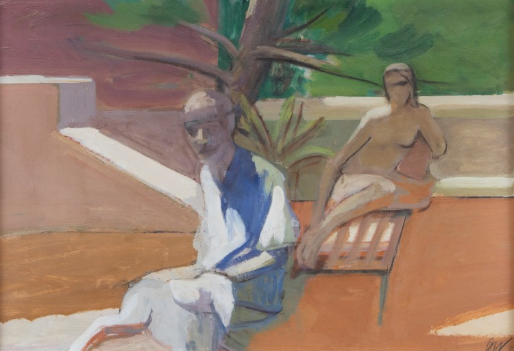 Staprans painting