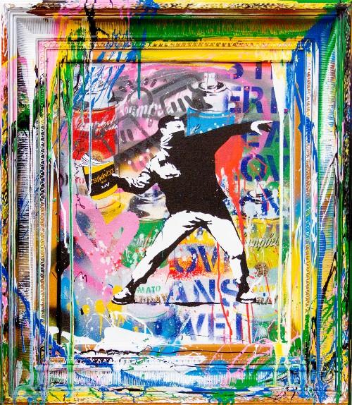 Paintings by Mr. Brainwash