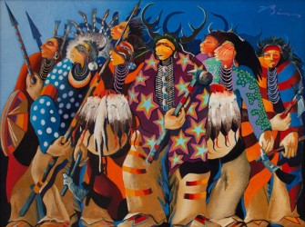 Native American subjects set records at Hindman Western art sale