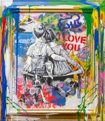 Mr. Brainwash paintings presented at New River Fine Art