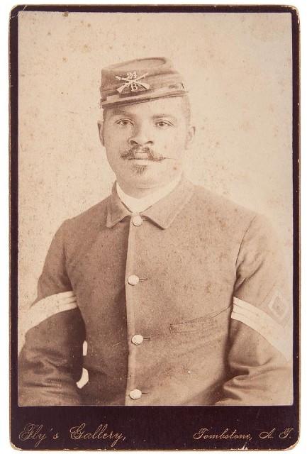 Black Civil War officer