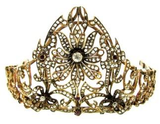 Victorian-era tiara stars in Jasper52 jewelry sale Dec. 29