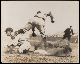 Conlon photo of Ty Cobb stealing third sells for $390K