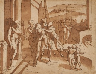 Old Master drawings featured in online art auction Dec. 2