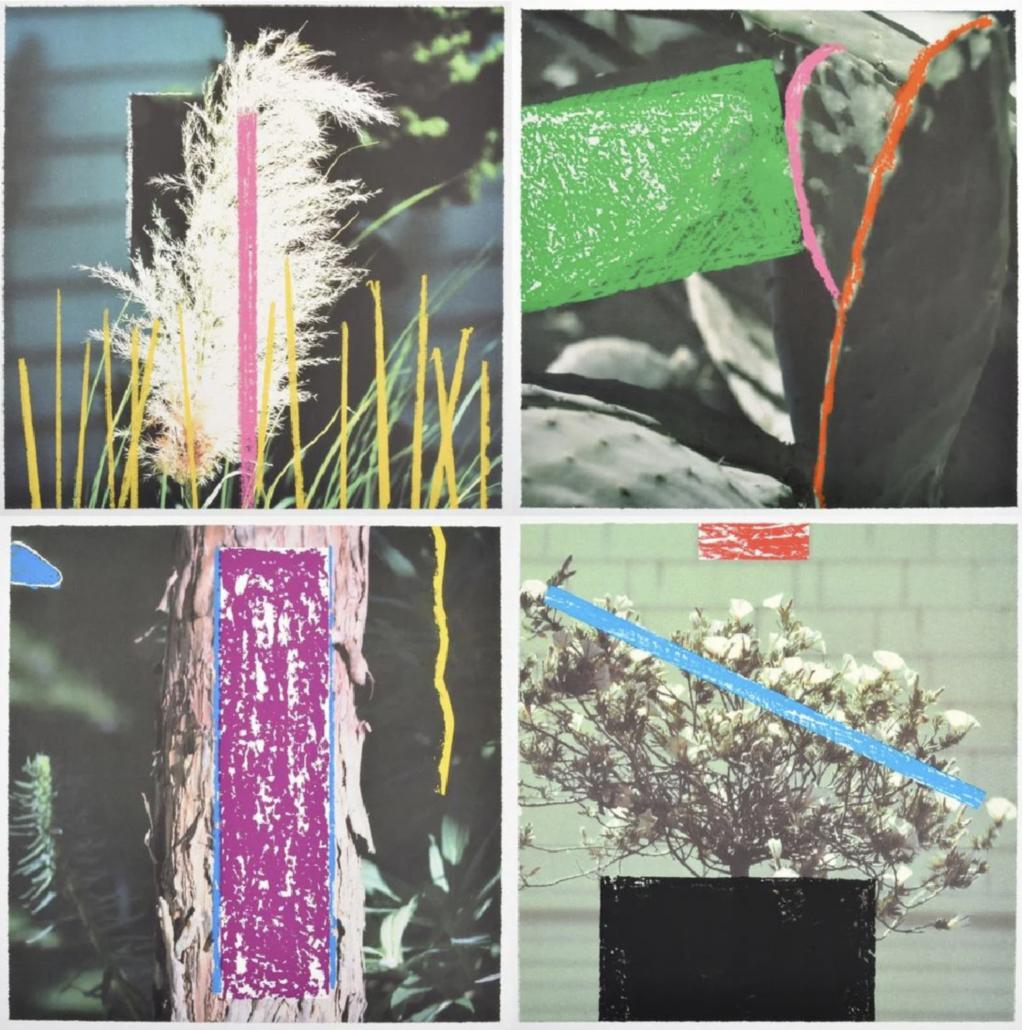 Four John Baldessari (b. 1931-) prints from the '2623 Third Street, Santa Monica' series. Signed; ed. 53/61; 2000. Sold for $5,850 + buyer's premium at Palm Beach Modern Auctions, Feb. 23, 2019.