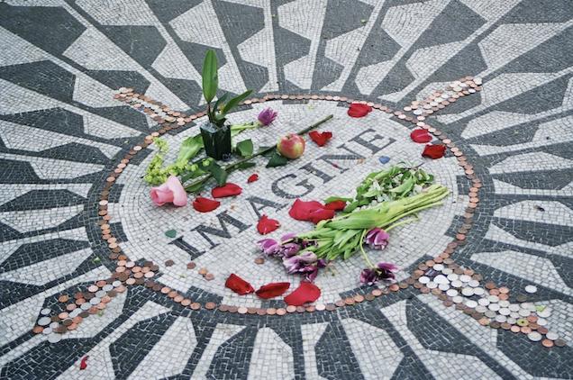 Fans, Ono, bandmates mark 40 years since John Lennon's death