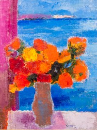 Auctions at Showplace features Bernard Cathelin painting Feb. 7