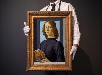 Botticelli portrait sells for $92.2M at New York auction