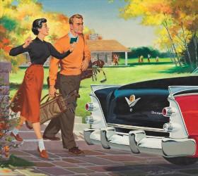 Golf tops leaderboard at Swann's illustration art sale Jan. 28