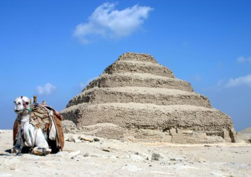Egypt unveils ancient funerary temple amid pyramids