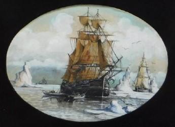 Maritime painting tip of the iceberg in Bruneau sale Jan. 28