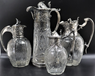 Faberge carafes top $51K at Sarasota Estate Auction