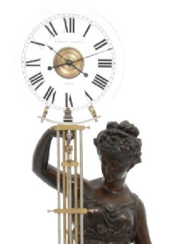 Robert-Houdin: magician and inventor of the mystery clock