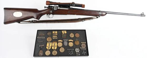 Milestone to auction historically important, fresh-to-market firearms, Jan. 30