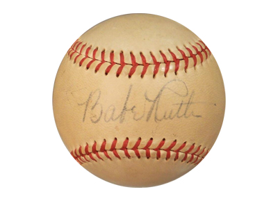How sports memorabilia is authenticated