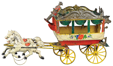 Bertoia's to auction Schroeder collection of antique toys & banks, Mar. 5-6
