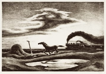 The Hot Bid: 'The Race' is on for Thomas Hart Benton litho