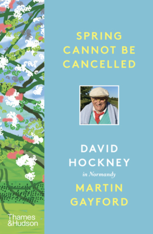 David Hockney co-authors uplifting book during spring lockdown