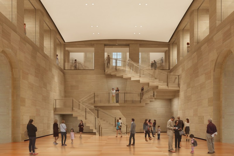 Frank Gehry-designed renovation at Philadelphia Museum of Art opens May 7
