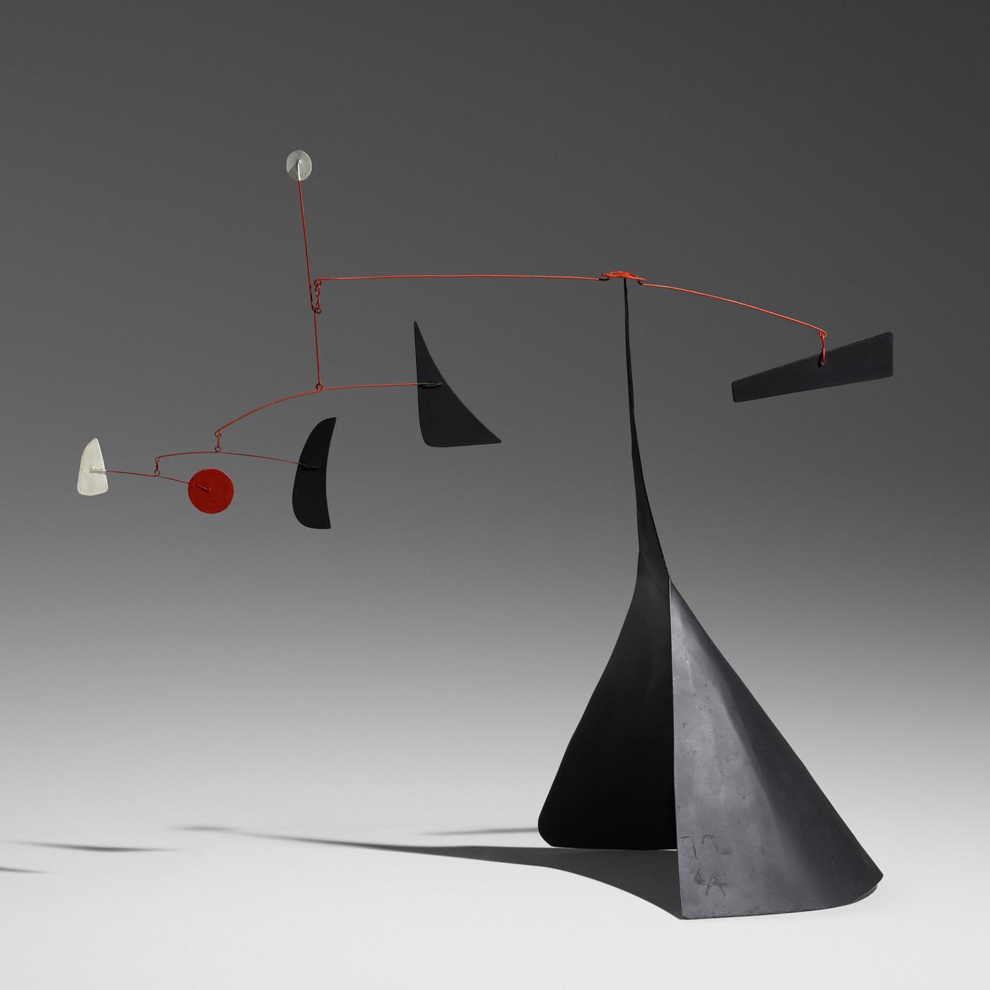 Alexander Calder artwork, $845,000, Rago / Wright