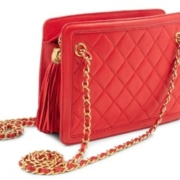 Chanel quilted leather handbag, 1989-1991