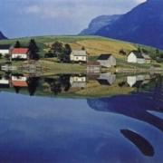 Ernst Haas, 'Norwegian Fjord,' 1959, photo litho