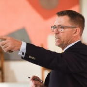 Image of an auctioneer