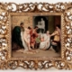 KPM porcelain plaque with hand painted scene of 'The Slave Seller' after the original painting by Hendrik Siemiradzki