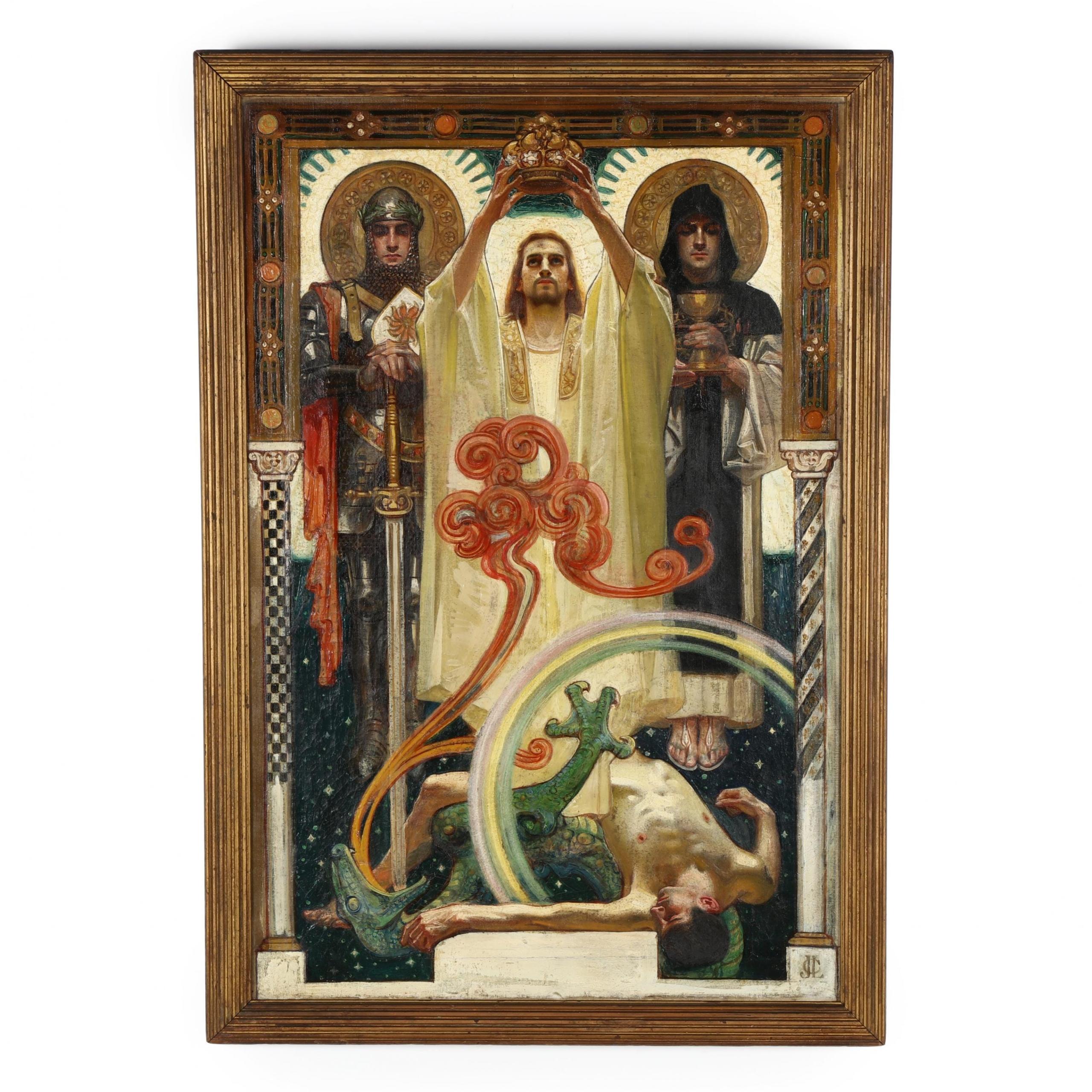 Leyendecker painting, $74,000, Leland Little