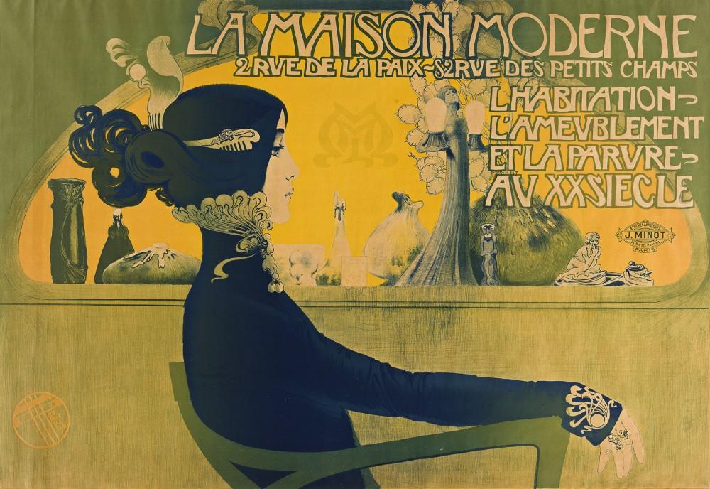Manuel Orazi poster, $37,500, Swann Auction