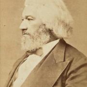 Frederick Douglass, photograph by Samuel M. Fassett, 1878. $15,000-$25,000. Image courtesy Swann's Auction Galleries
