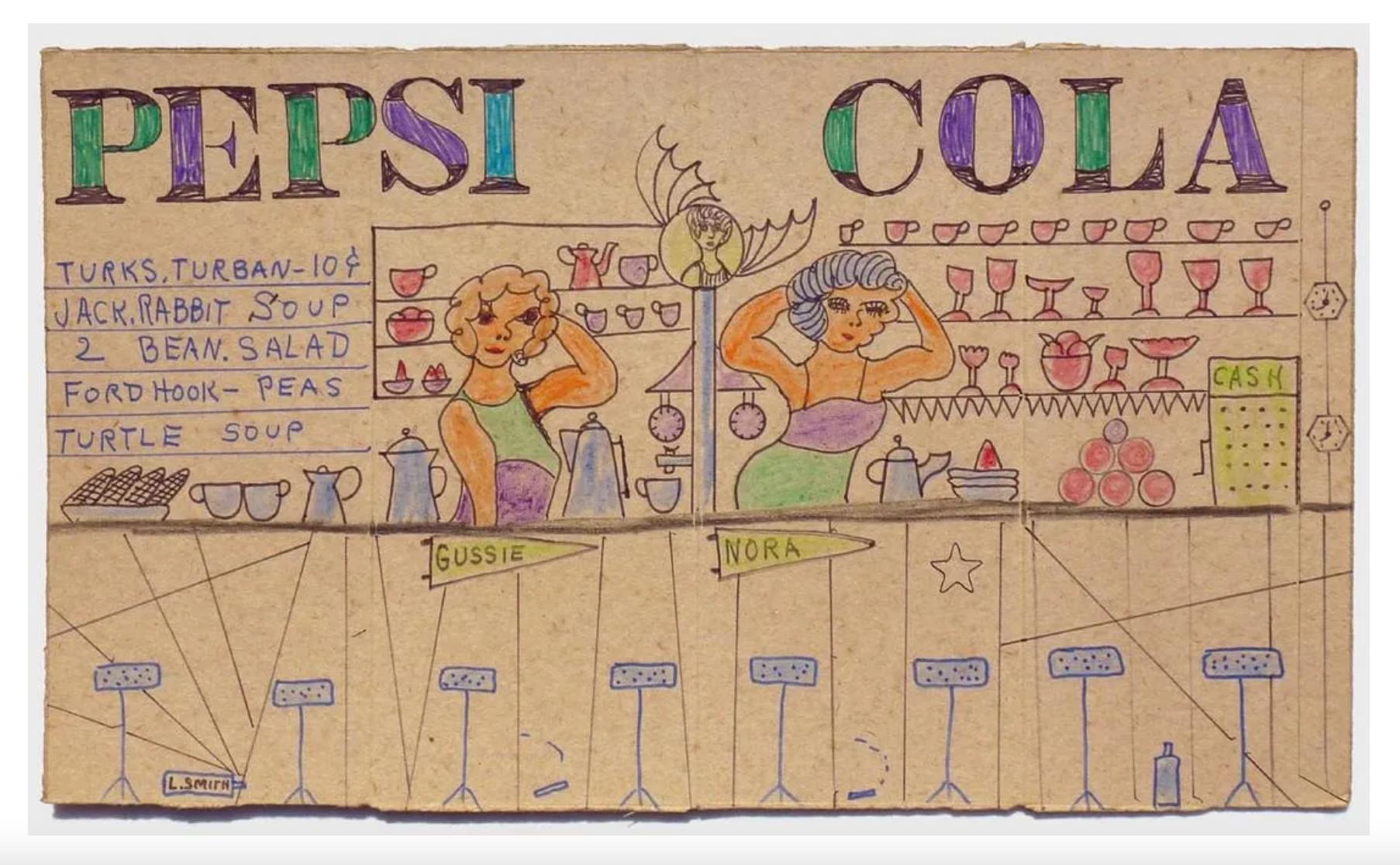 Lewis Smith, 'Pepsi Cola,' $800-$1,000