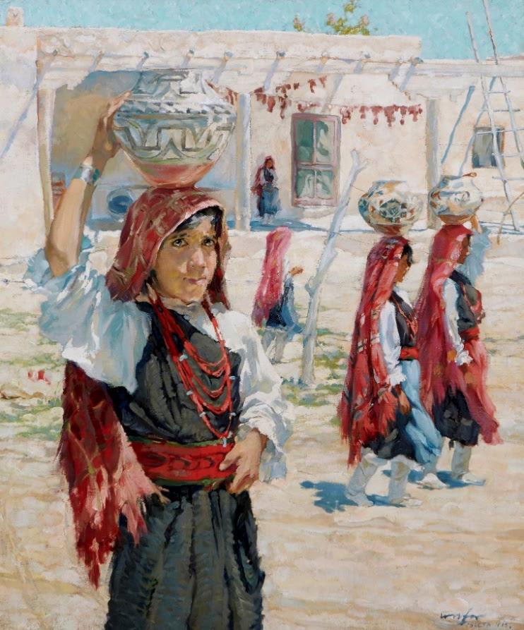 Walter Ufer painting, $125,313, Bonhams