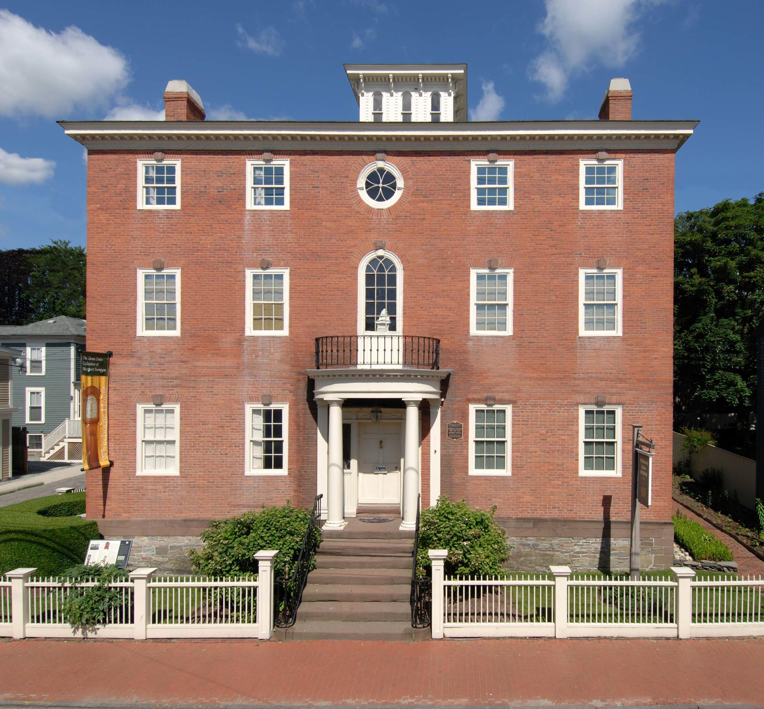 The Newport Restoration Foundation's Whitehorne House Museum.