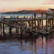 "Antwan Ramar, ""Rainbow Harbor."" Image courtesy Lightner Museum"