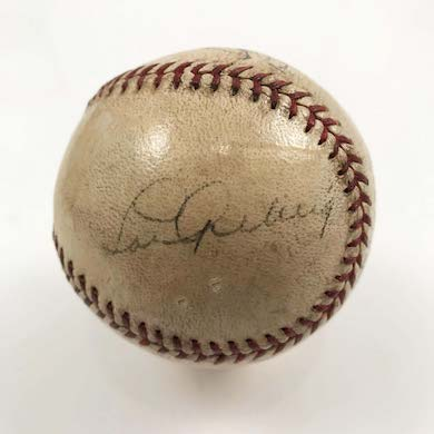 Lou Gehrig-signed ball, coin-ops, political buttons lead Fine Estates auction March 21
