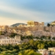View of the Acropolis of Athens. Image licensed from iStockPhoto